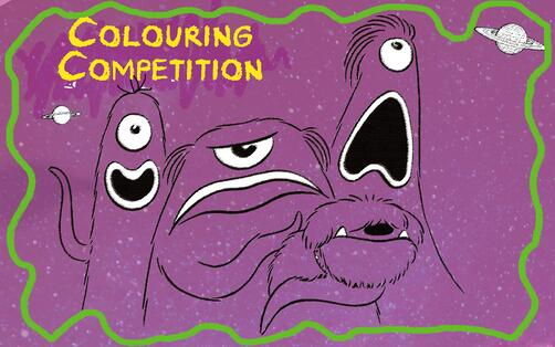 Doods colouring competition