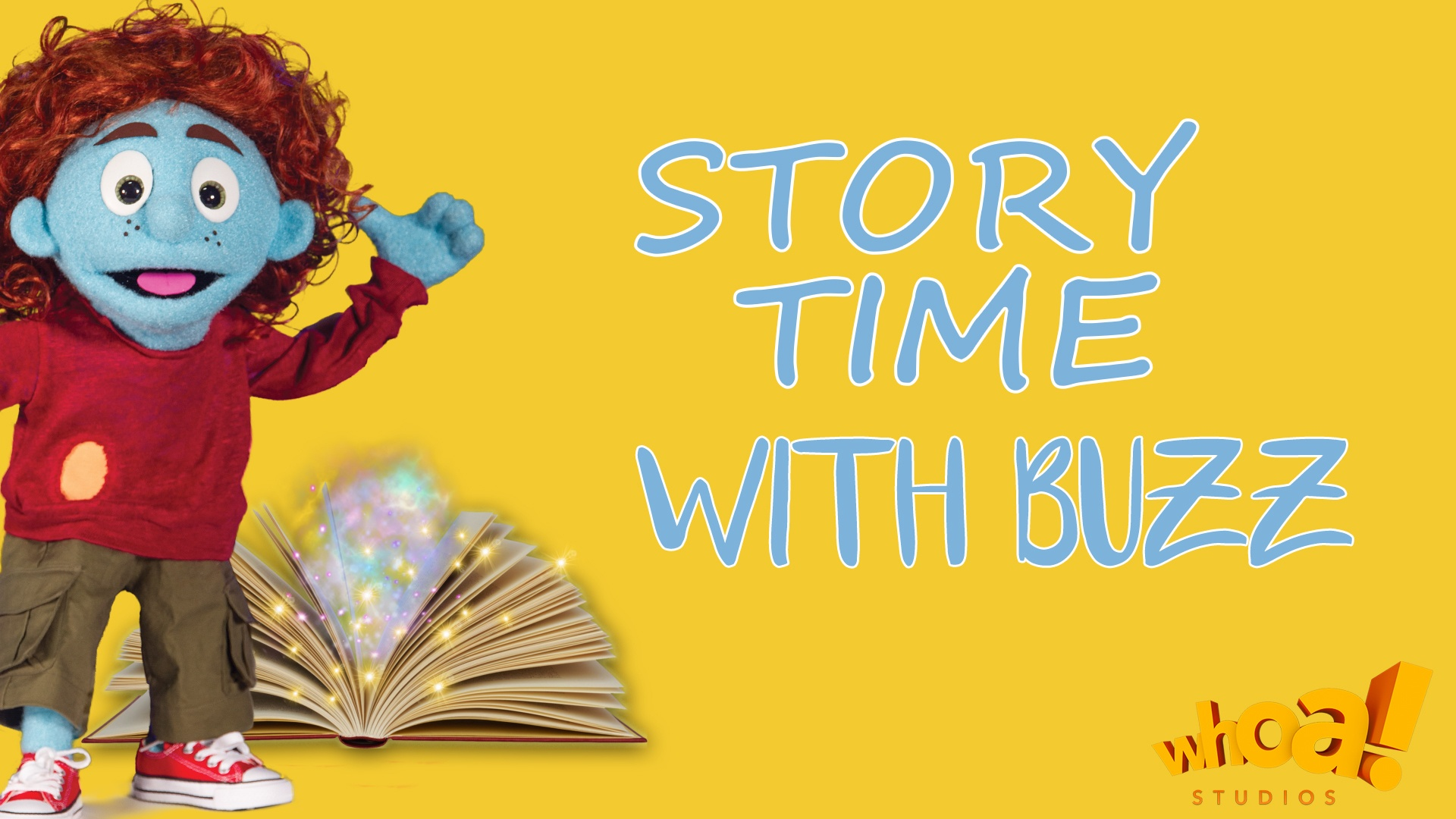 Story time with buzz board
