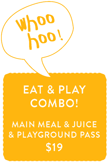 Whoo Hoo Eat and Play Combo