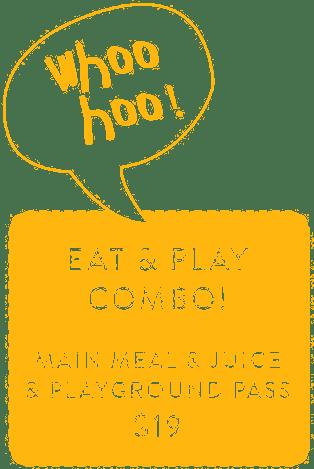 Whoo Hoo Eat and Play Combo